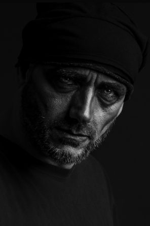 Paul Henry Collins (Paul Henry Studios) - self-portrait - mua Pamella Botero