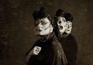 David Campos Fernández (vacuiphoto) - self-portrait - mua sty Alex Ariza - Mutation