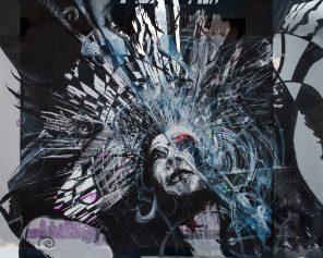 Garaje Gooch - Trixxie Carr - ghc art Eddie Rifkind (eddierifkind.com) - Trixxie Remixed