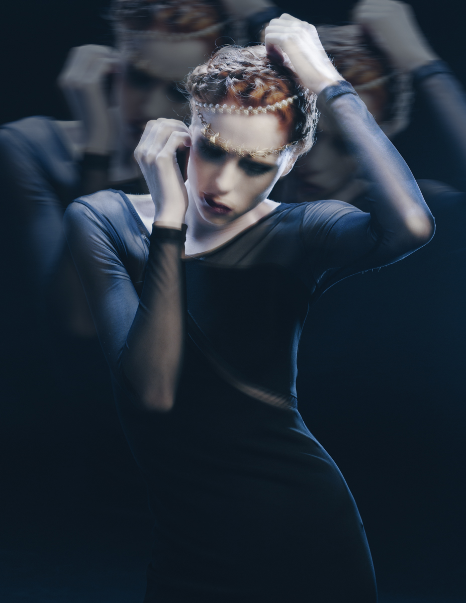 "Ryan Chen - Elysse Royds @ Lexington Models - stylist Frank Wang - hair:makeup Jenny Tseng - assistant Nick Ma - ""Nightmare"""
