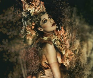 Alf Caruana - Tree Goddess of Autumn