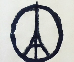 Jean Jullien - Peace for Paris