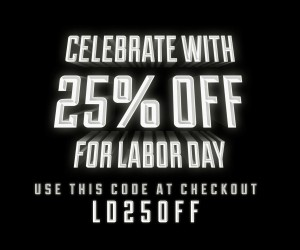 Labor Day Sale - Get 25% OFF!