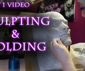 "Vicious Vanity FX Tutorial for Dark Beauty's ""Little Red"" — Sculpting & Molding"