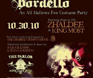 The Haunted Bordello, 10/30 at The Parlor All Hallow's Eve Party San Francisco