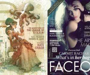 Dark Beauty Magazine and FaceON Magazine