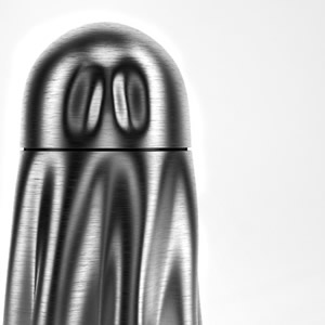 Ghostly Urn by Anna Marinenko