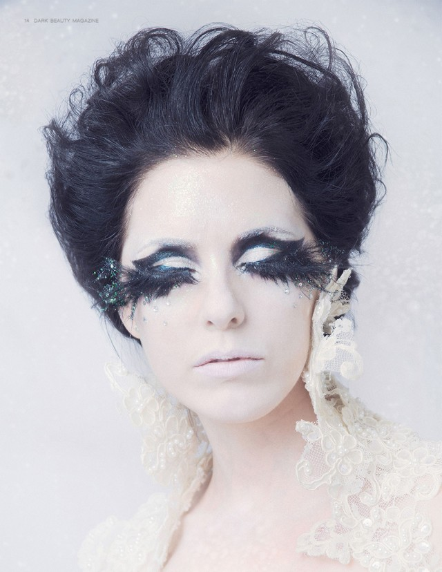 Taralynn Lawton - Meisha Kingdon - makeup Mariya Litvinova (Marsha Make-up) - headdress:collar:gown designer Lacey Bannister (Straight-Laced Boutique) - earrings Christopher VanWart