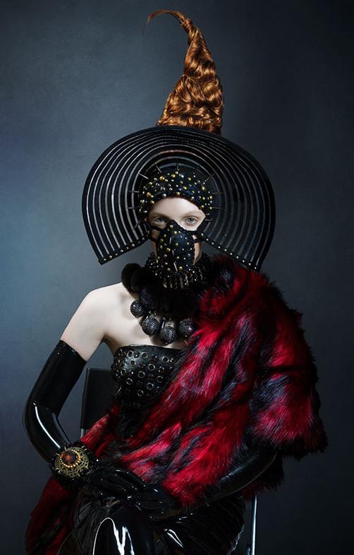 Michelle Aristocrat - Quinn - hair Irina Lavrega - makeup Delia Lupan - stylist Red Fashion