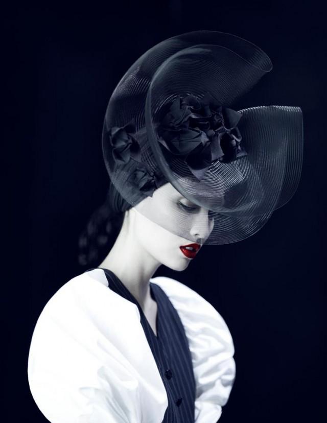 Xi Sinsong - Jessica Mau - hair Singo Shibata - makeup Yuki Hayashi - stylist Lisa Jarvis 2