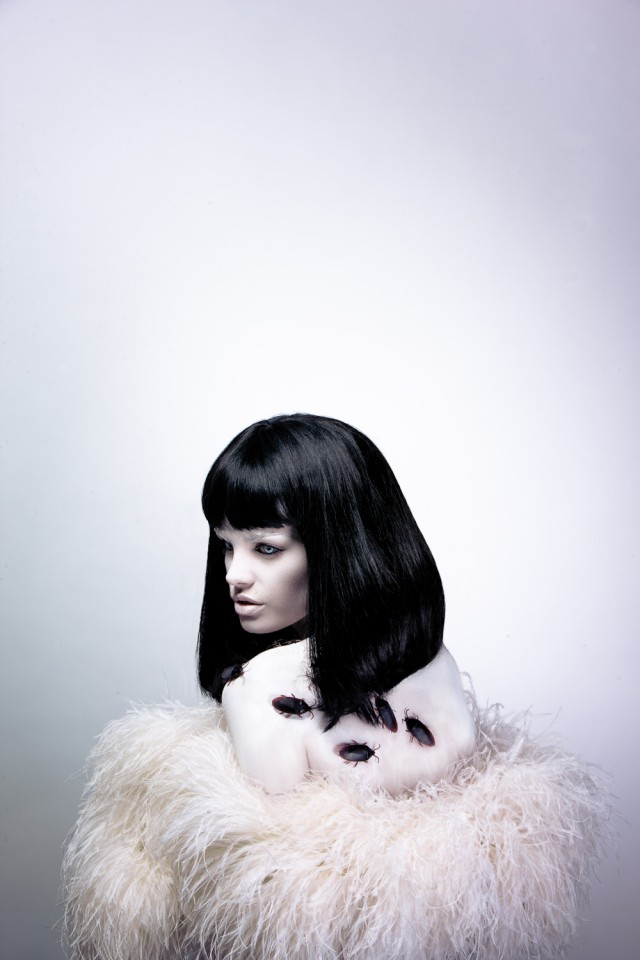 Gerard Goh - Brittney Paige - stylist:hair:makeup Vivienne Vermuth - assistant Nam Chau