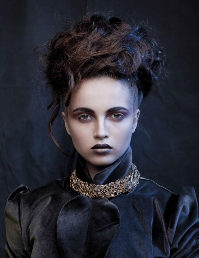 "Igor Kruter - Elena for ""Passion"" Israel - hair Helen Gripich - makeup Inna Rabovsky - stylist Alona Stoev - jewelry Efrat Cassouto - corset:jacket Dark Margot"