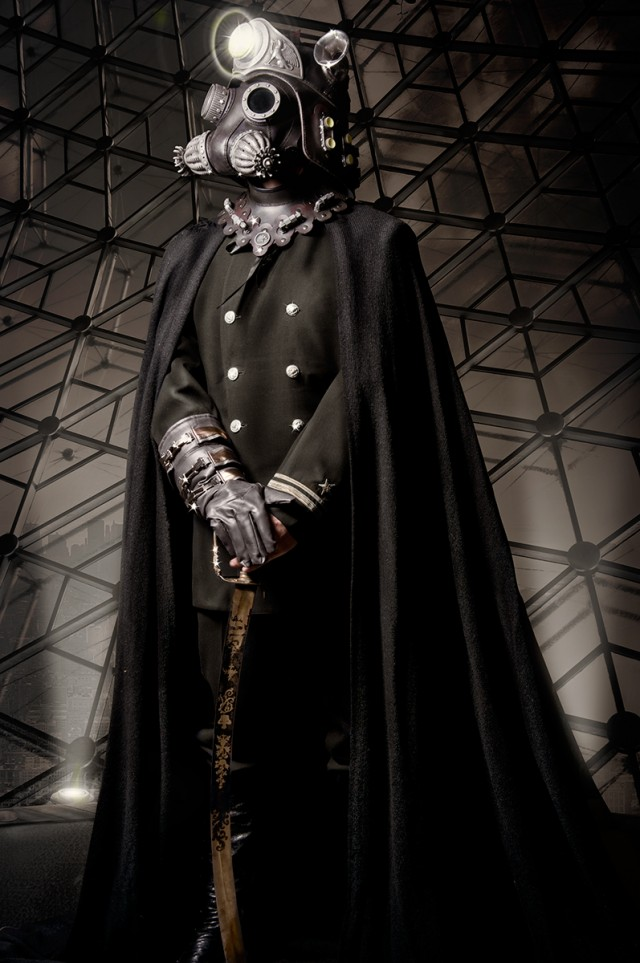 Topher Adam - Matthew Molcillo - mask Tom Bandwell - stylist is photographer - post The Dark Noveler