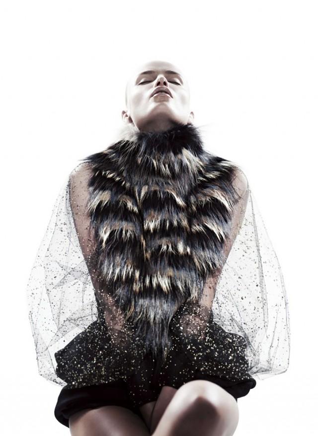 Willy Vanderperre - Natasha Poly - stylist Nicoletta Santoro