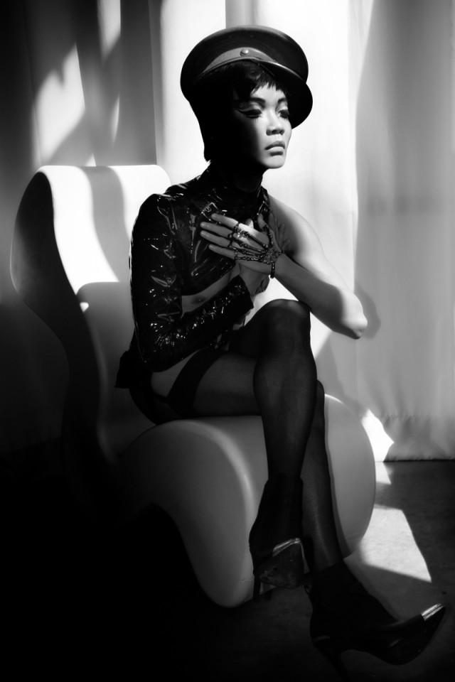 "McCade Dolan (Cadeography) - Victor Loo - hair:makeup Paula Yahn - stylist Tan Tran - hat Belle McCluskey - ""Martyr"""