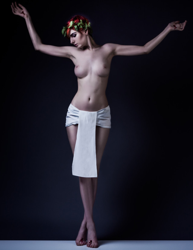 Kirsten Thys van den Audenaerde - Sara Scarlet - hair makeup Kittie Amber