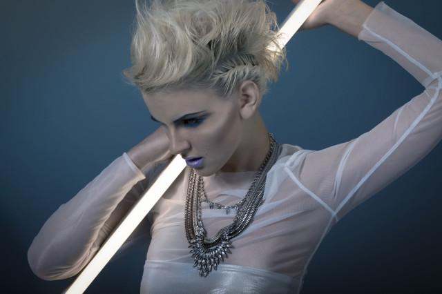 Sarah Schmid @ minu luk - Mia Harding - hair makeup Nina Greitzke Hair&Make-up Artist - stylist designer Sabine Heimberger Paula Popp - assist Olaf Brostowski