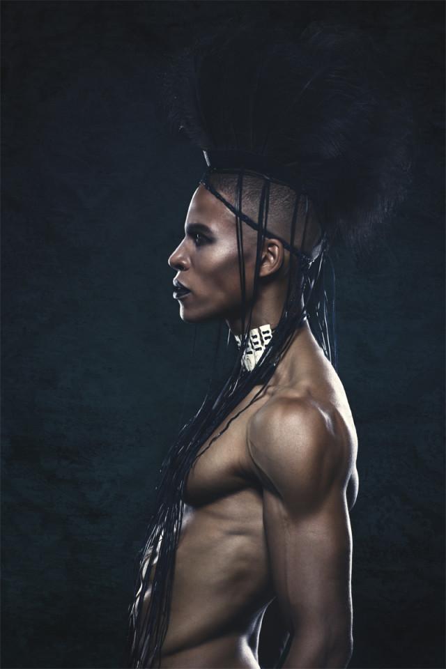 Koszki Photographer - Vince Wagenmann @ Modelwerk - makeup Adriana Klosa - stylist designer Animal Heartwear