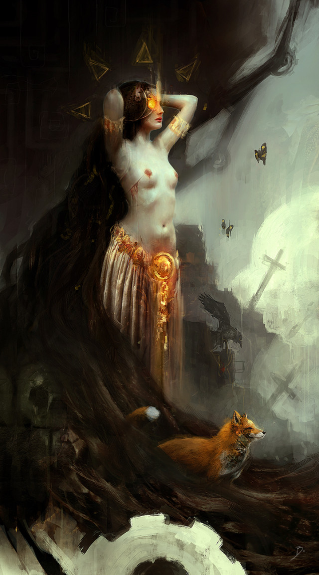 Bastien Lecouffe Deharme (b.digital.art and roman-noir.com) - Laureline - The Fox