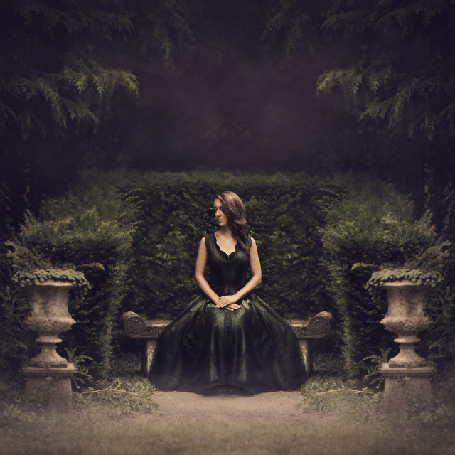 Leigh Bishop Photography - Kelly Mortensen McGrady - In the Middle Mist