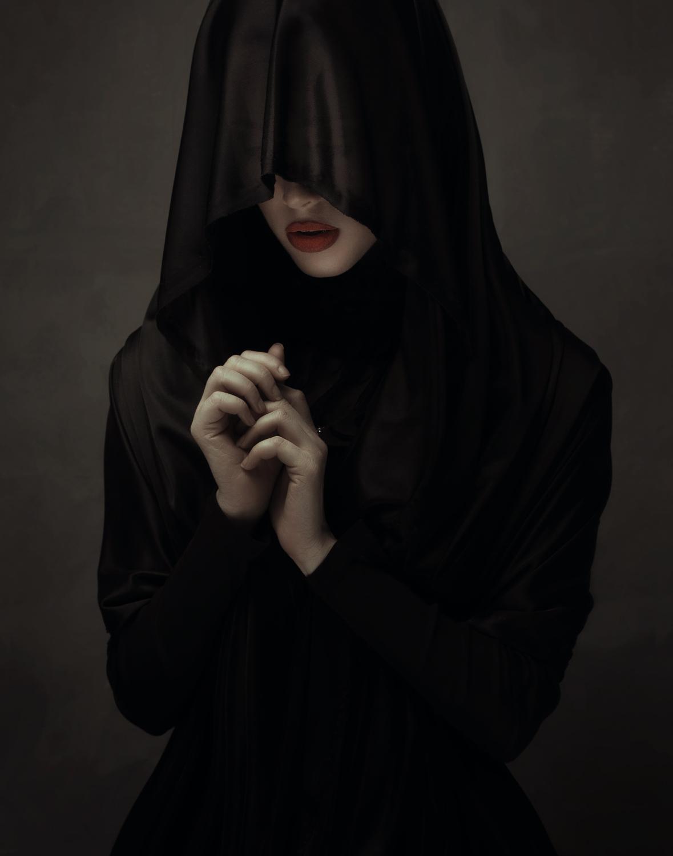 عکس های غمگین سیاه