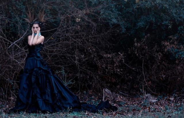 Faith McGary - Molly Pritchard - designer Faith McGary - retouch Salleh Sparrow Photography - location The Wildcatter Saloon