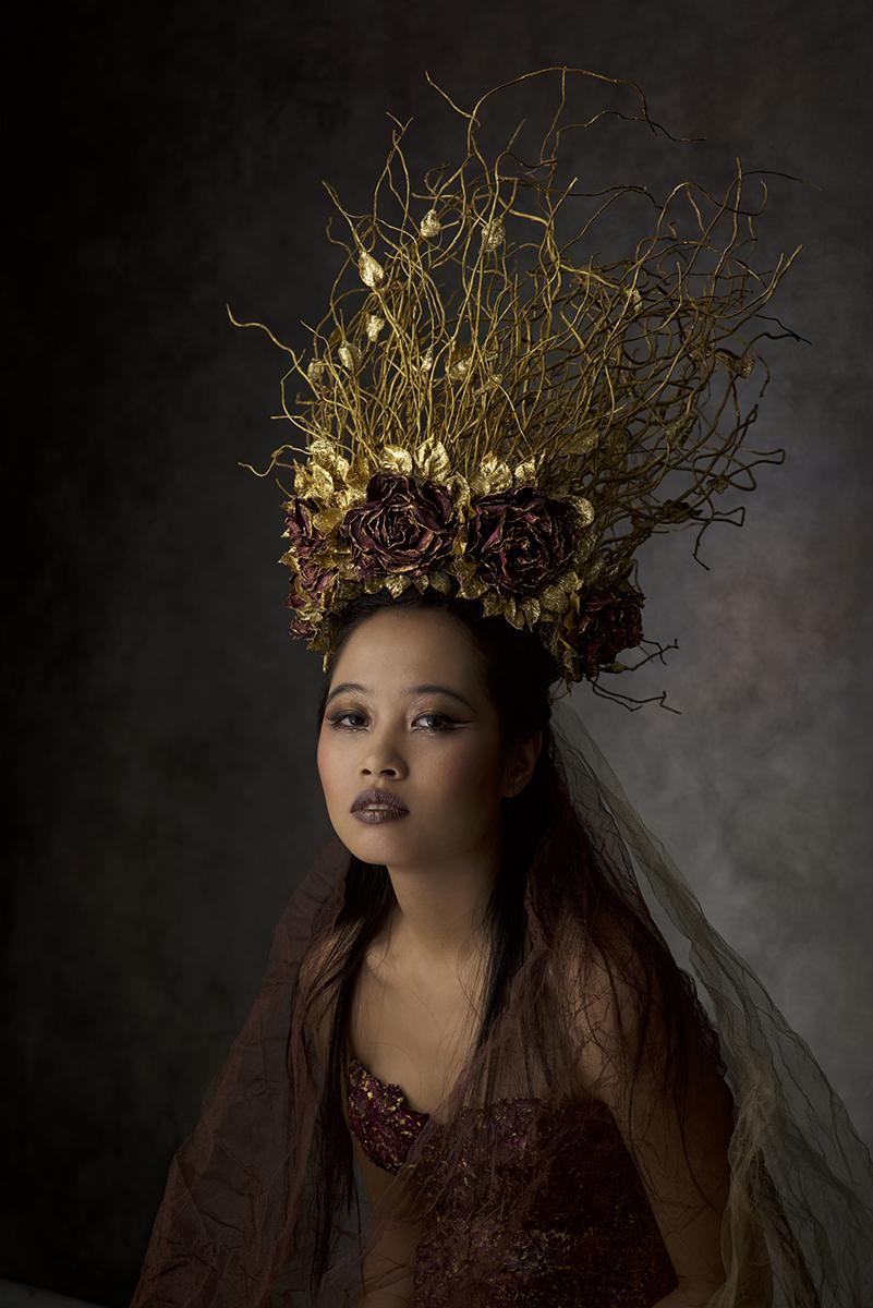 Model:Lisa Nguyen,Photographer/Costume/Make up:Agnieszka Jopkiewicz