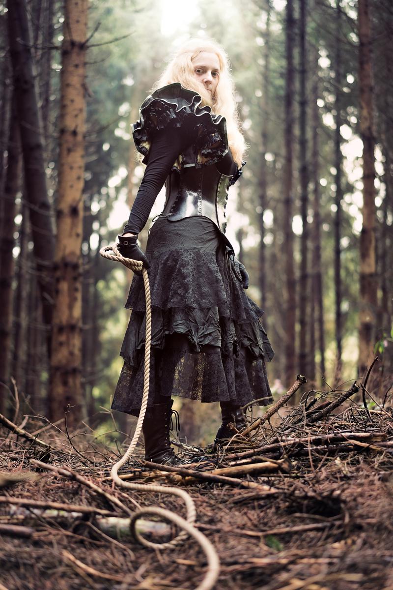Jonas Tilly - Miss REdreaming (Ms.Redreaming) - leather corset Wolfsbund