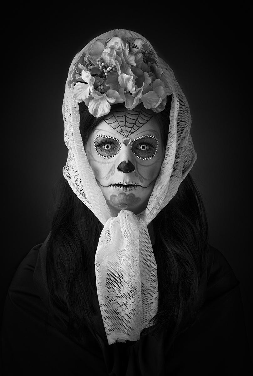 Ronald Ronson Artwork - Lisa Hiptmair - Sugar Skull