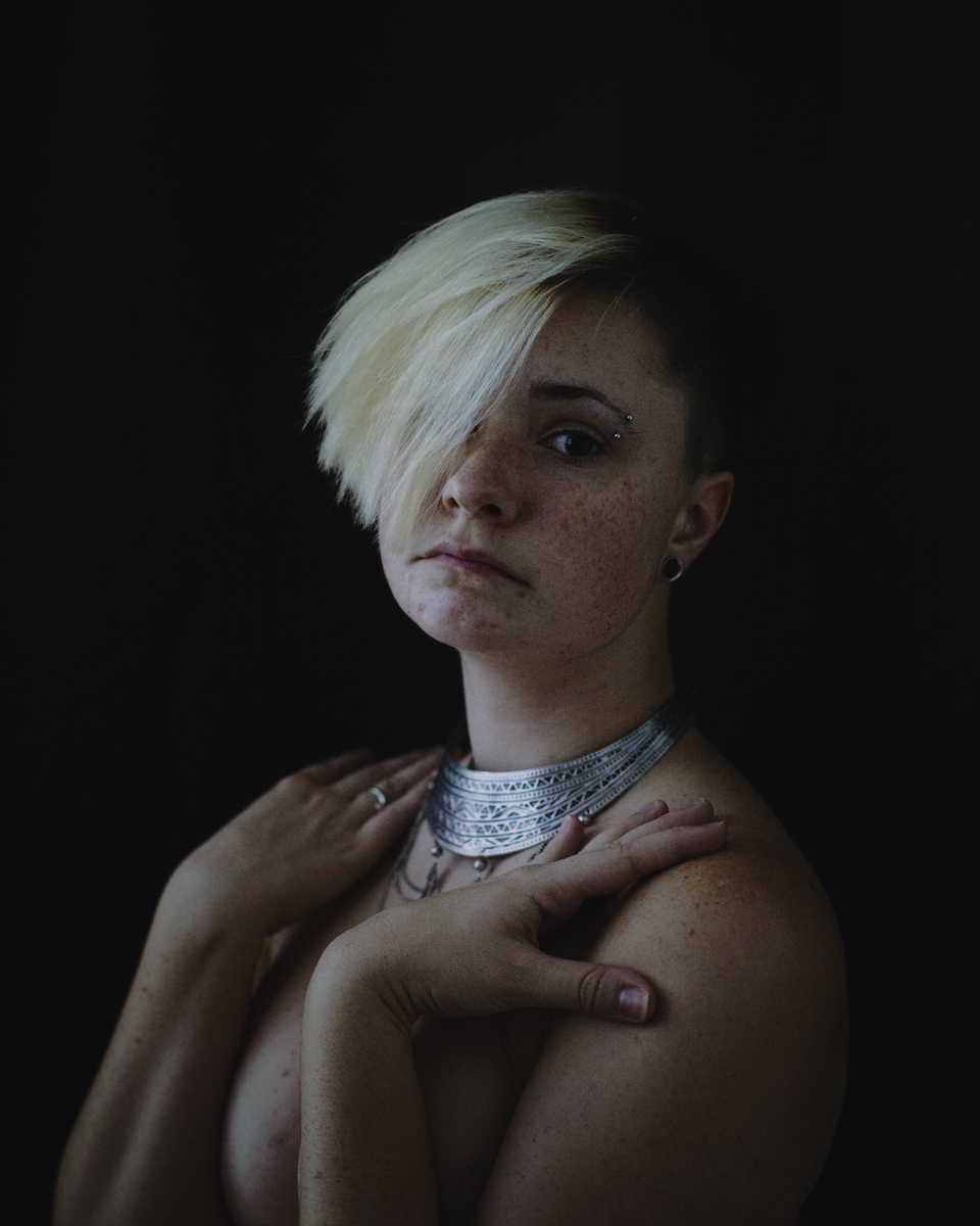 Ashley Comer (ashley.comer.photo ig ashley.comer) - self-portrait - Never:Ever