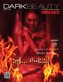 "Dark Beauty Magazine Second Annual Halloween issue 8, ""Hidden Sp"